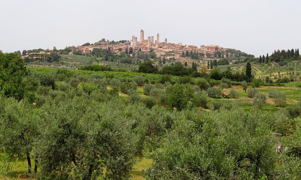 1. San Gimignano panorama