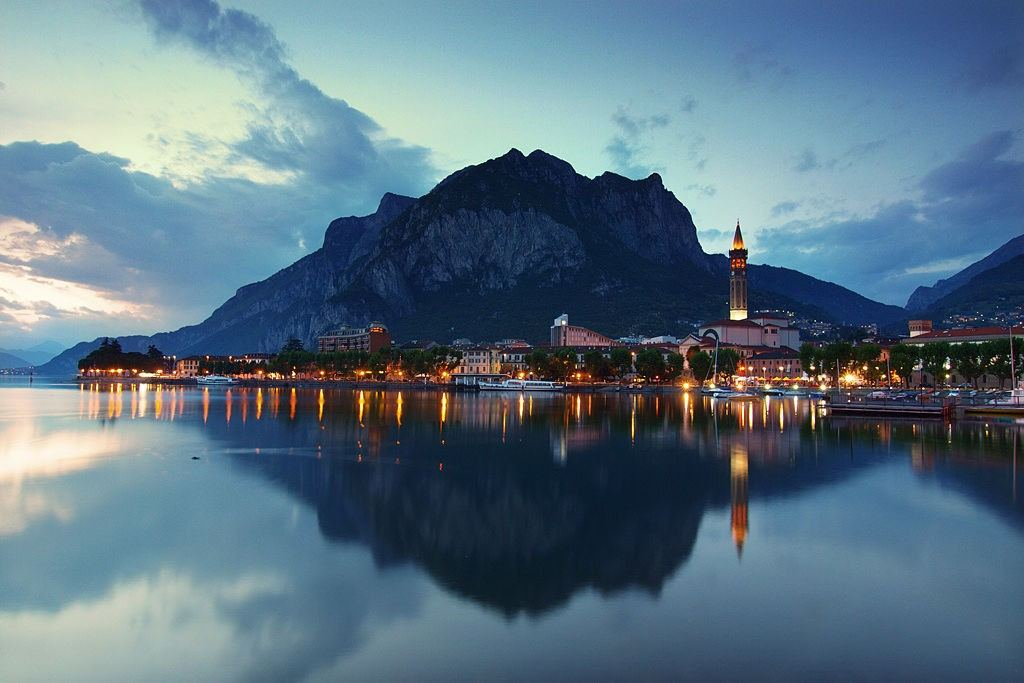 Lecco Town Lombardy